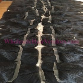 Natural black lace closure